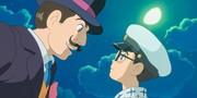 Il giovanissimo Jirō e l'ingegner Caproni