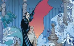 Anche in Italia il fumetto tratto da The Graveyard Book
