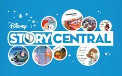 Centinaia di avventure con i libri di Disney Story Central