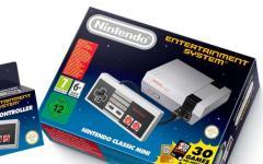 Arriva Nintendo Classic Mini