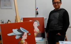 Intervista al mangaka e pittore Tamura Yoshiyasu