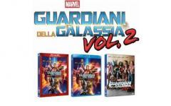 Guardiani della Galassia vol 2 disponibile l'home video