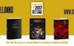 Le nomination del gioco di ruolo dell'anno 2017 a Lucca Comics & Games