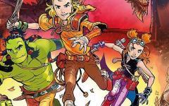 Gli eroi di Dragonero in versione young!
