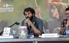 Vanni Santoni presenta L'impero del sogno a Lucca Comics & Games