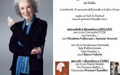 Margaret Atwood in Italia a dicembre 2017