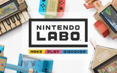 Nintendo annuncia l'arrivo di Nintendo Labo