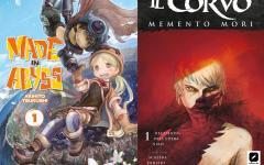 In anteprima a Cartoomics 2018 Made in Abyss e Il Corvo: Memento Mori