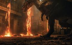 Jurassic World – Il regno distrutto al cinema