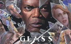 Il poster esclusivo di Glass per il San Diego Comic-Con realizzato da Alex Ross