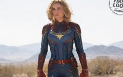 Le prime immagini di Brie Larson in Captain Marvel da Entertainment Weekly