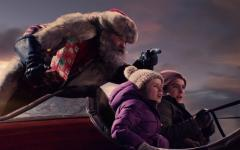 Kurt Russel in Qualcuno salvi il Natale su Netflix