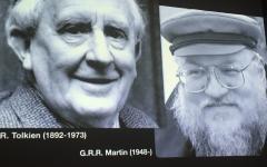 Costruttori di Mondi: J.R.R. Tolkien e G.R.R. Martin a confronto a Lucca Comics and Games 2018