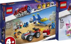 I nuovi set ispirati al film The Lego Movie 2