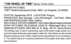 La Ruota del Tempo: inizio delle riprese nel 2019