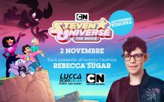 La creatrice di Steven Universe, Rebecca Sugar, ospite a Lucca Comics & Games
