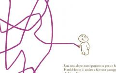 Arriva in libreria Harold e la matita viola, edito da Camelozampa