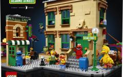 In arrivo 123 Sesame Street LEGO Ideas