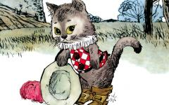 Il gatto con gli stivali di Dino Battaglia