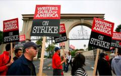 Continua lo sciopero degli sceneggiatori