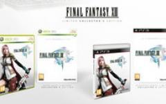 L'edizione limitata di Final Fantasy XIII