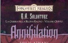 Annihilation, continua la serie curata da R. A. Salvatore