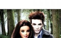Bella Swan ed Edward Cullen formato Barbie