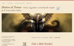 Un blog per il dietro le quinte del Trono delle Ombre