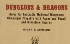 Il Gioco dei Giochi: Dungeons&Dragons - parte prima