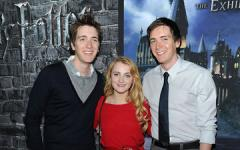 Video chiacchierata con Luna Lovegood e i gemelli Weasley