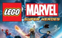 LEGO Marvel Super Heroes Video Game Box Art