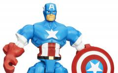Marvel Super Heroes Mashers, Captain America