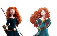 Il new look di Merida, da eroina a Principessa, ma la rete non ci sta