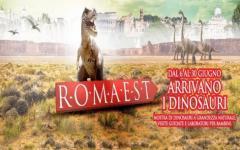 Jurassic World coi dinosauri in carne e ossa al centro commerciale Romaest