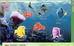 Il pesciolino Nemo diventa un francobollo