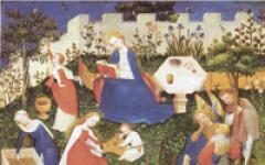 I giardini medioevali all'Isola Borromeo