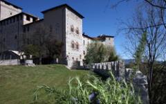 Il giardino medioevale della Rocca di Angera