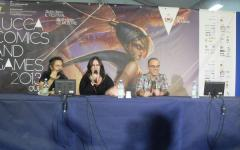 Lucca Games 2013: Chiara Codecà, Francesco Dimitri e Luca Tarenzi, scassinatori alla Porta dei Sogni
