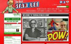 Il sito ufficiale di Stan Lee