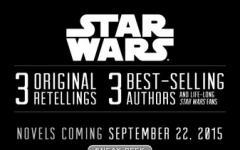 Tre romanzi inediti di Star Wars in arrivo a settembre