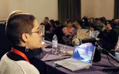 Licia Troisi a Lucca Comics & Games 2012