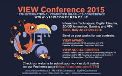 Nuovi importanti ospiti alla View Conference 2015!