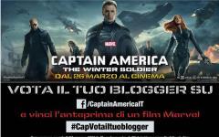 Concorso Captain America, vota il tuo blogger