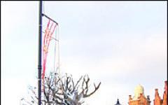 La statua di Barbalbero a Birmingham