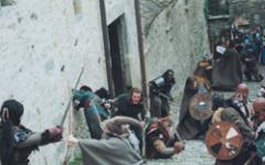 La Compagnia dell'Anello combatte al castello di Bardi