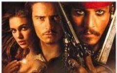 Depp, Bloom e la Knightley sulla Perla Nera