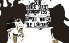 221B Baker Street, London 1927 - Dr. J.H. Watson & H.P. Lovecraft