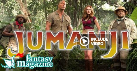 Jumanji – Benvenuti nella giungla da oggi al cinema  ∂  FantasyMagazine.it