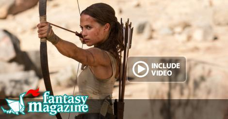 Siete pronti per Alicia Vikander nel ruolo di Lara Croft in Tomb Raider? ∂  FantasyMagazine.it