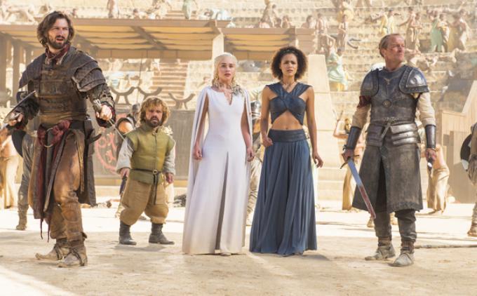 Un'immagine dalla quinta stagione di Il Trono di Spade